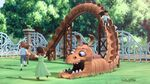 The Baker King park dragon