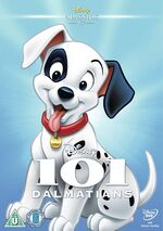 101 Dalmatians UK DVD 2014 Limited Edition slip cover