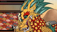 Dragon Facepalm