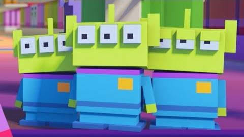 Crossy Roads the Animated Series Toy Story Disney