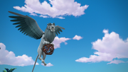 Chief Zephyr flying