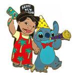 Japan Disney Mall - Lilo & Stitch - Happy New Year