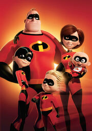 The Incredibles - Superhero Family Poster