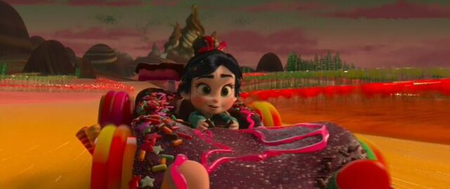 File:Vanellope getting to the FL.JPG