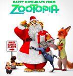 Zootopia Christmas promo