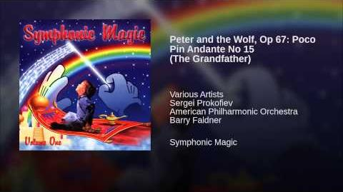 Peter and the Wolf, Op 67 Poco Pin Andante No 15 (The Grandfather)