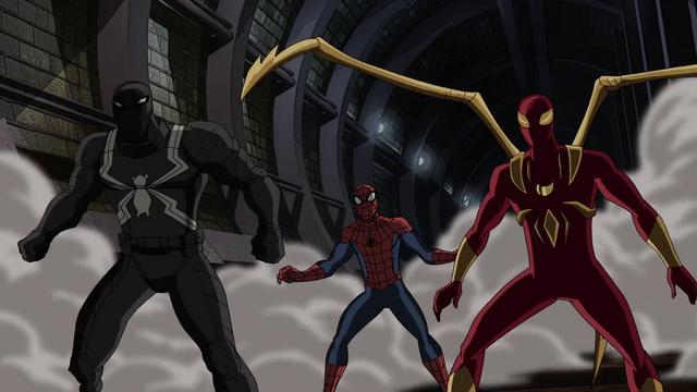 File:Spider-Man Agent Venom Iron Spider USMWW 2.png