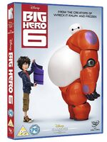 Big Hero 6 UK DVD 2015