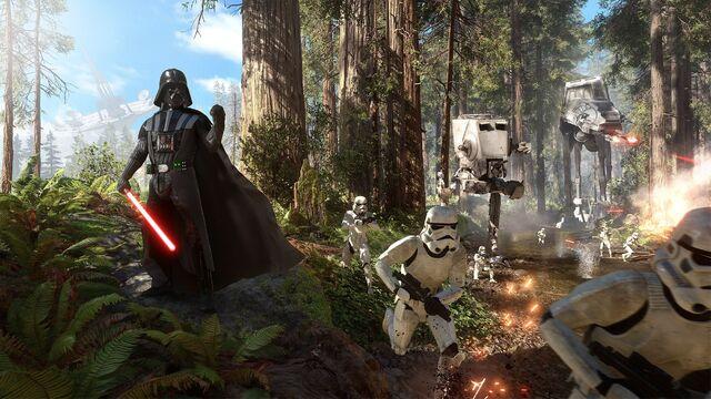 File:Vader Endor Battlefront.jpg