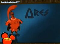 Ares Title Card from Herc and the Secret Weapon