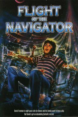 Flight of the Navigator Poster 2