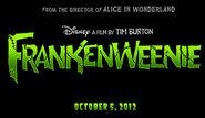 Frankenweenie 2012 film logo