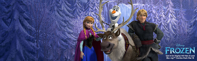 File:Frozen Get It on Digital HD Feb 25 and Blu-Ray Combo Pack on Mar 18 Banner.jpg