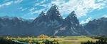 Good-Dinosaur-Concept-Art-Tetone-Mountains