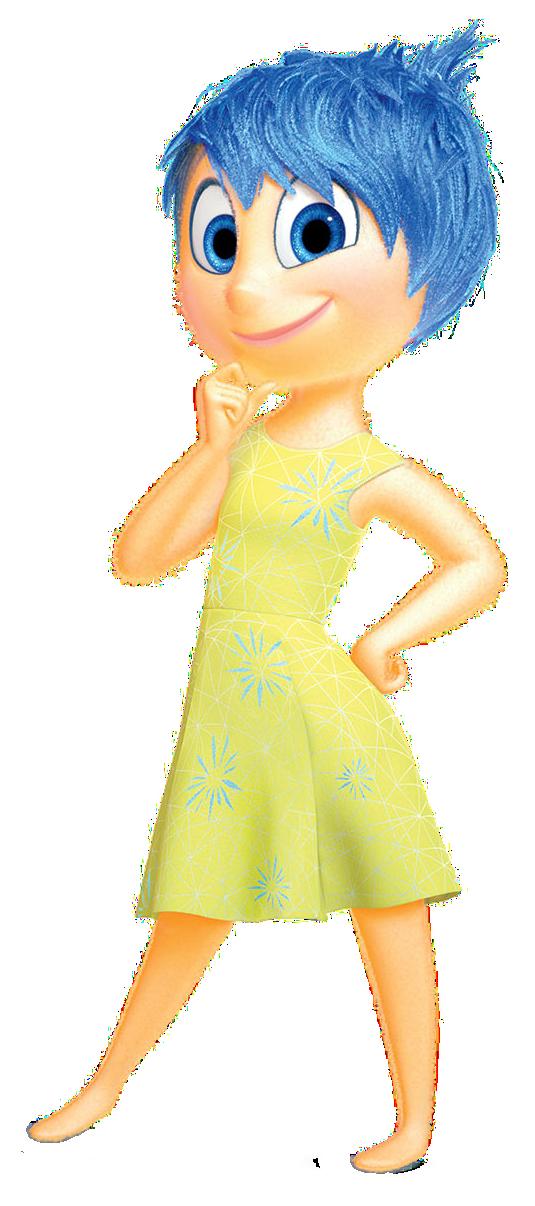 Meet Joy from Inside Out of Disney.