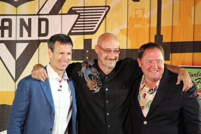 File:Lloyd Sherr with John Lasseter and Tom Staggs.jpg