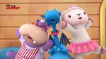 Stuffy, lambie and hallie singing4