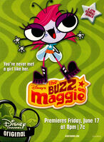 The Buzz on Maggie print ad NickMag June July 2005