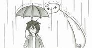 Baymax and Hiro Story