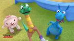 Lambie, stuffy and serpent sam