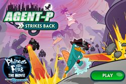 Agent P Strikes Back title screen