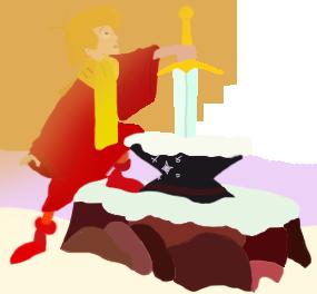 King Arthur Sword in the Stone toystoryfan artwork
