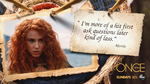 Once Upon a Time - 5x06 - The Bear and the Bow - hit first ask questions later - Merida