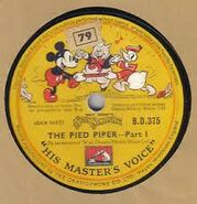 The pied piper record