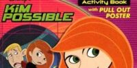 Kim Possible Sticker Activity Book