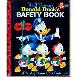 Donald ducks safety book