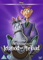 The Adventures of Ichabod and Mr. Toad UK DVD 2014 Limited Edition slip cover