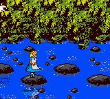 Alice in Wonderland Game Boy Color Gameplay