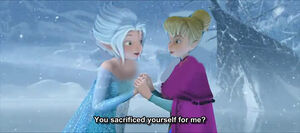 Tinker bell and periwinkle as anna and elsa by taylorswiftieilove13-d7kzb51