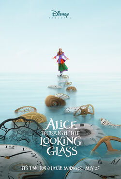 Alice Through The Looking Glass Poster 01