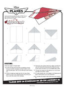 Disney planes rochelle paper plane instructions 0