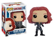 Funko Pop! - Captain America Civil War - Black Widow