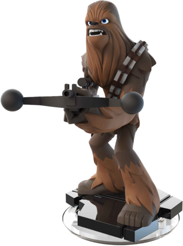 File:Chewbacca Disney INFINITY Figure.png