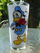 Donald pespi glass tumbler