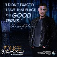 Once Upon a Time in Wonderland - Will Scarlet - Quote