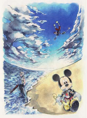 File:Kingdom Hearts Dream Drop Distance (Art).png