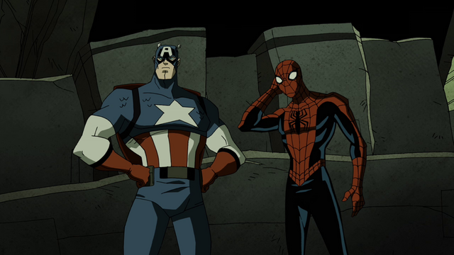 File:Captian America & Spider-Man AEMH.png