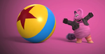 Bing Bong and Pixar ball