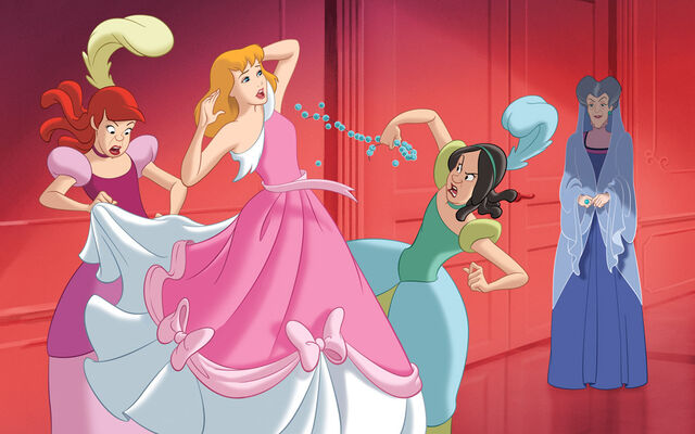 File:Disney Princess Cinderella's Story Illustraition 9.jpg