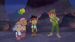 Jake& crew with Peter Pan-Jake Saves Bucky