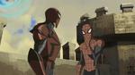 Spyder-Knight and Spider-Man USMWW 2