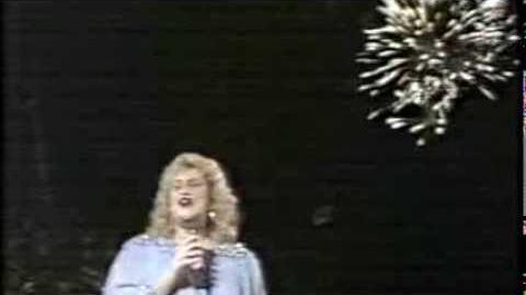 Sandi Patty - Patriotic Medley, Walt Disney World 1987