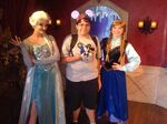 Me, Anna, Elsa, and Sonic