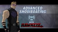 Advanced Showboating Hawkeye