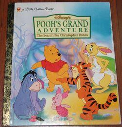 Poohs grand adventure little golden book