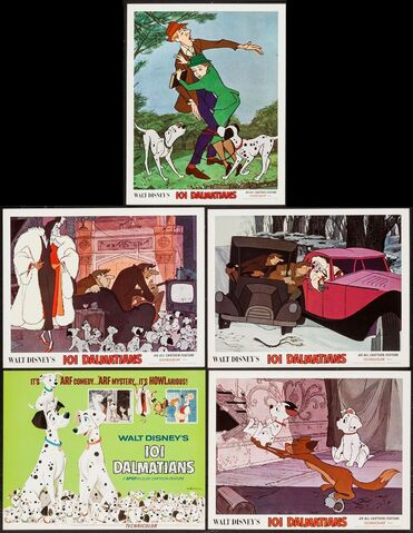 File:101 dalmatians lobby cards.jpg